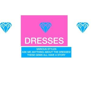 ***LISTED BY SIZE***DRESSES FOR ALL OCCASIONS